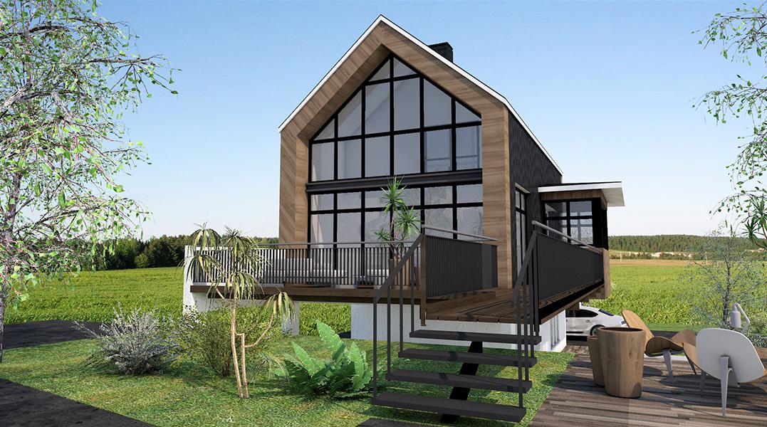 Constructeur de maisons individuelles, primo-accédant, design, traditionnelle